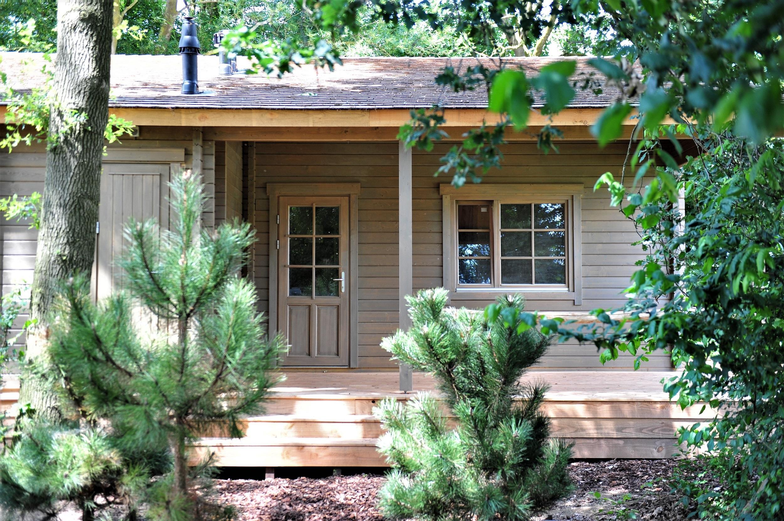 Sfeervolle, landelijke houten huisjes